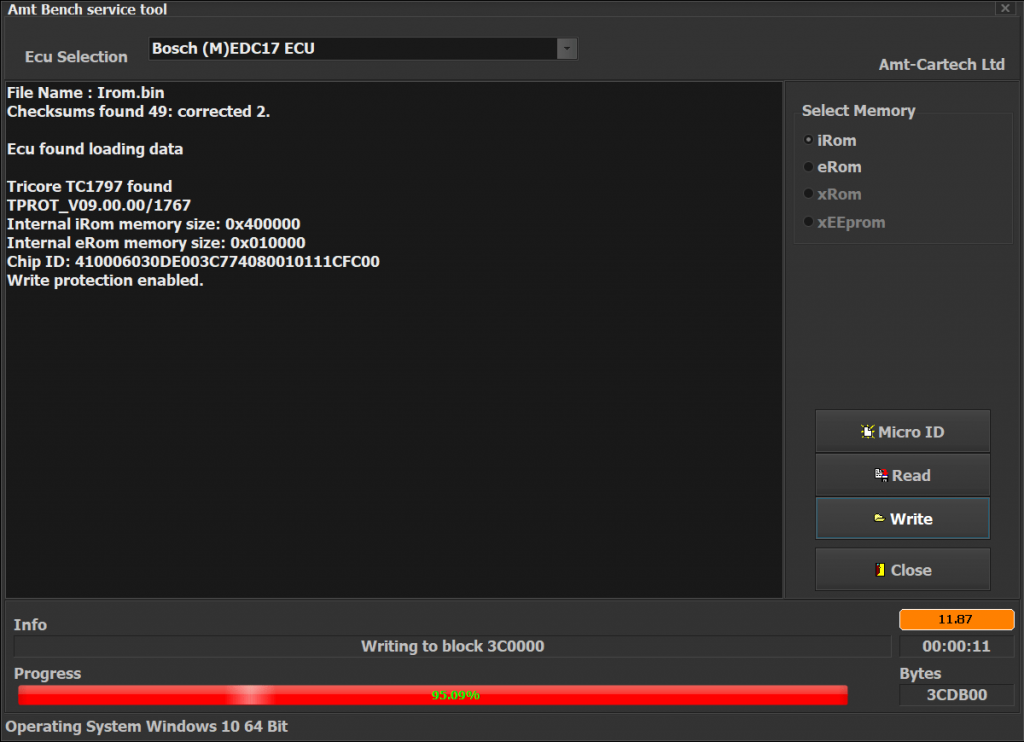 AMT BST - MASTER Tool (BENCH programmer)